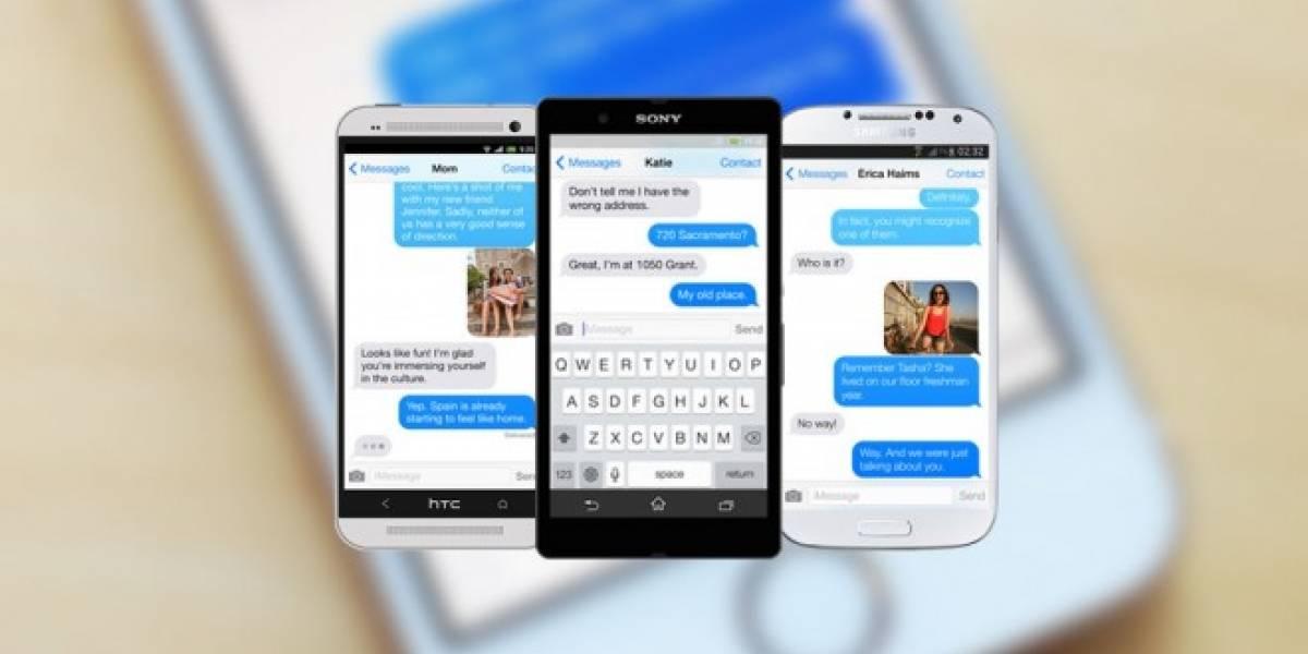 Apple confirmaría que no trabaja en una versión de iMessage para Android