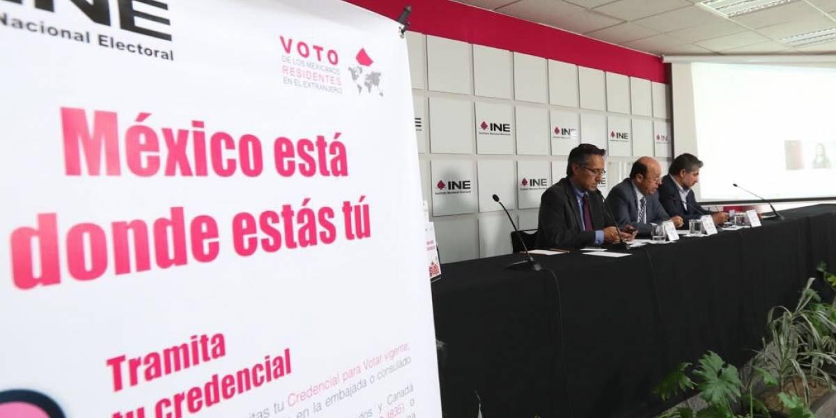 Solo 9% de las credenciales del extranjero se han registrado para votar