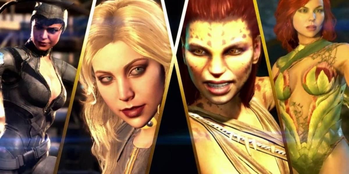 Injustice 2 presenta a sus luchadoras en un nuevo tráiler