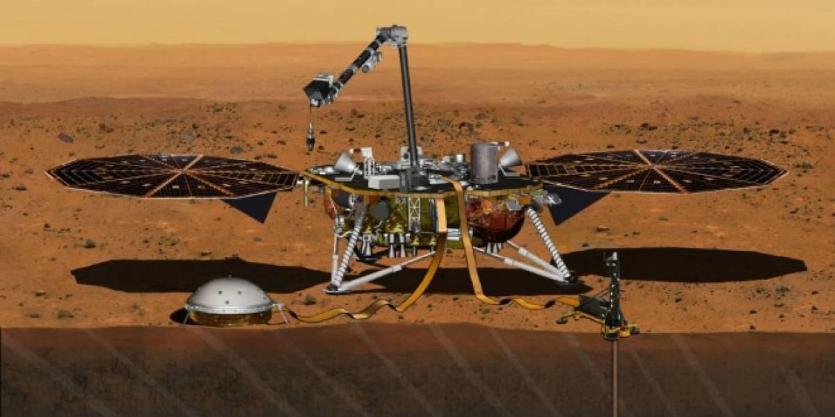NASA suspende InSight, la misión a Marte programada para marzo de 2016