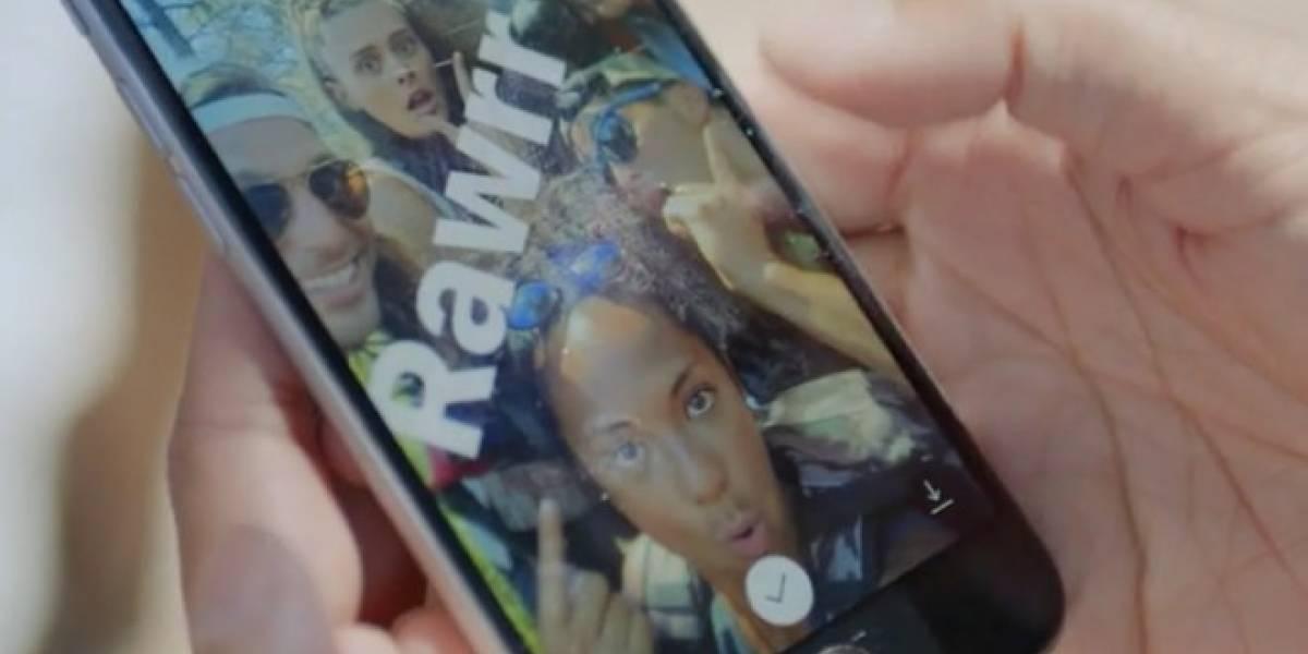 Instagram Stories es prácticamente la misma función que se encuentra en Snapchat