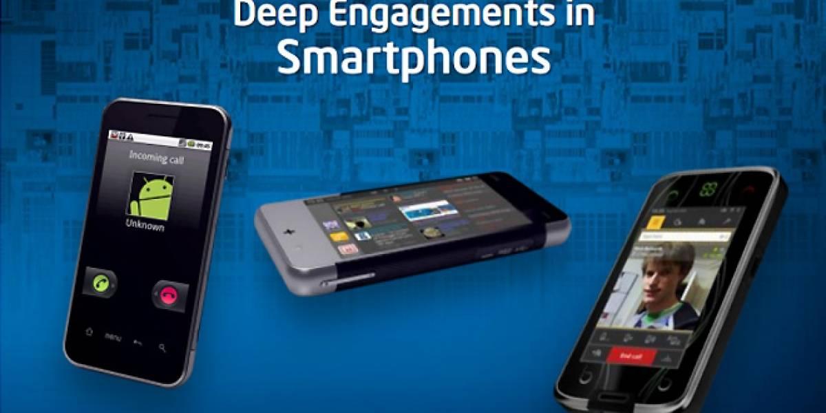 Intel y Google colaborando para móviles con Atom y Android