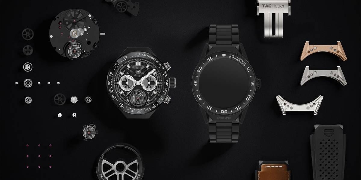 Conoce el reloj inteligente y modular de TAG Heuer