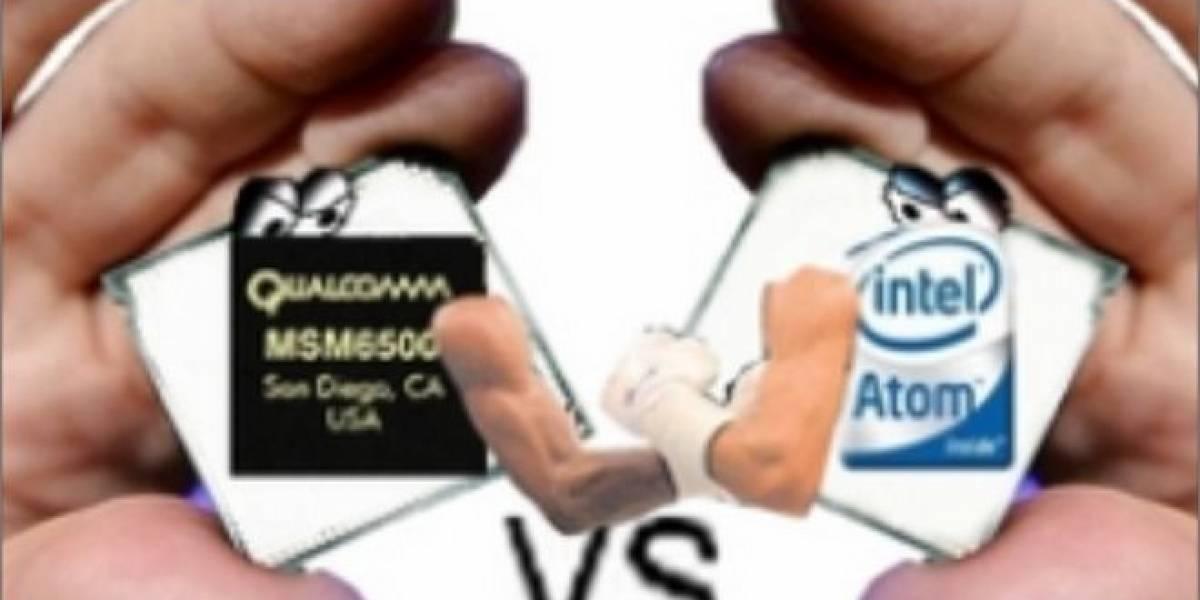 Intel considera a Qualcomm su mayor amenaza