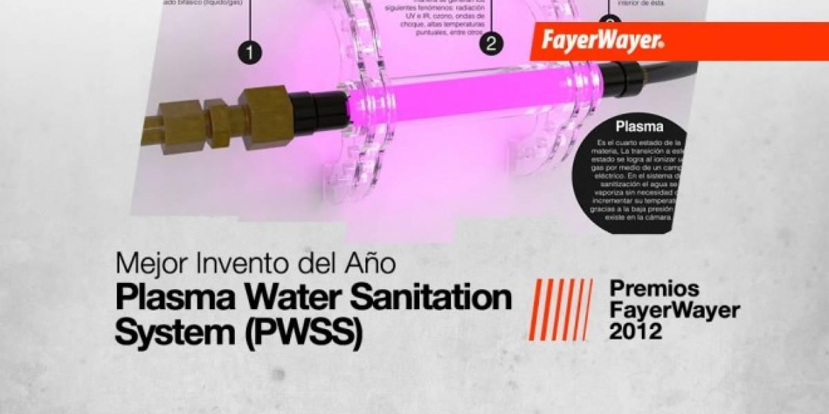 Plasma Water Sanitation System (PWSS): El Mejor Invento del Año 2012
