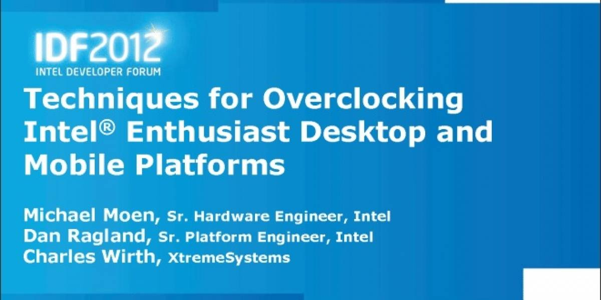 Intel detalla las capacidades de overclock de sus CPUs Core de segunda y tercera generación