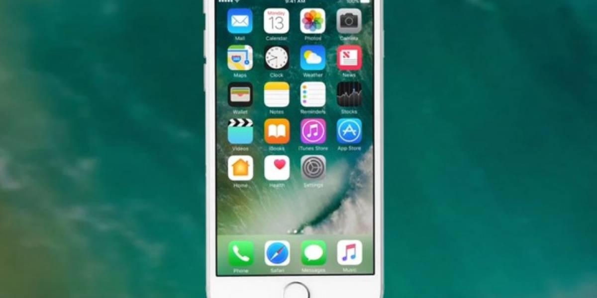 iOS 10 ocuparía menos espacio de almacenamiento que sus antecesores