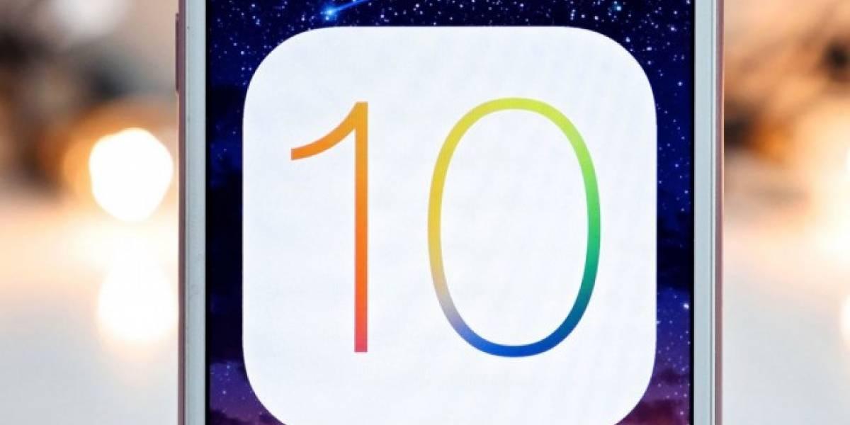 iOS 10 contaría en realidad con un modo Dark