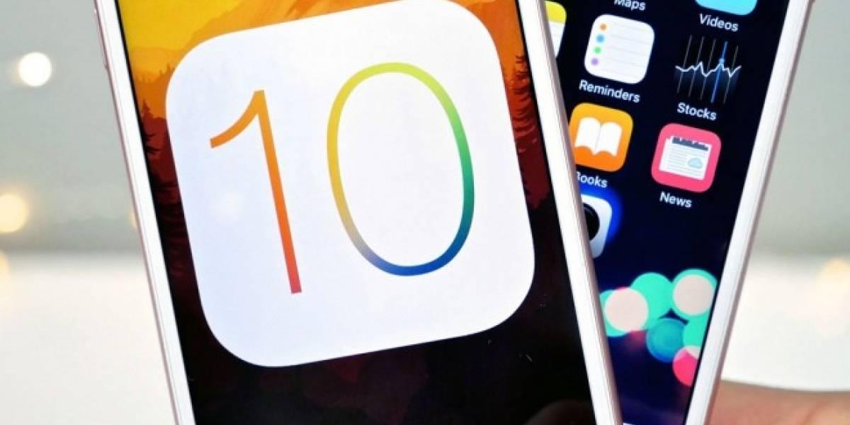 iOS 10 ya corre en el 66% de los dispositivos Apple