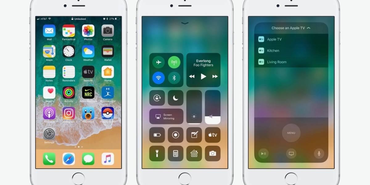 Usuarios se quejan de que iOS 11 mata la batería de su iPhone