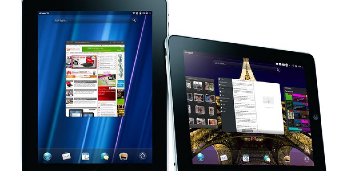 WebOS corría el doble de rápido en el iPad 2 que en el TouchPad