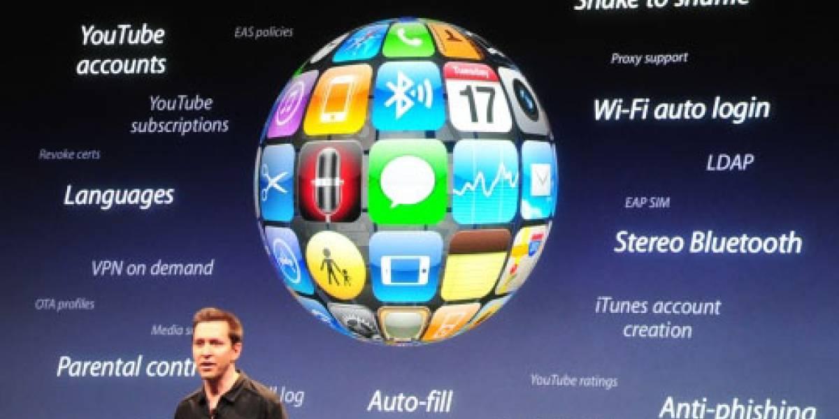 Las novedades del iPhone OS 3.0