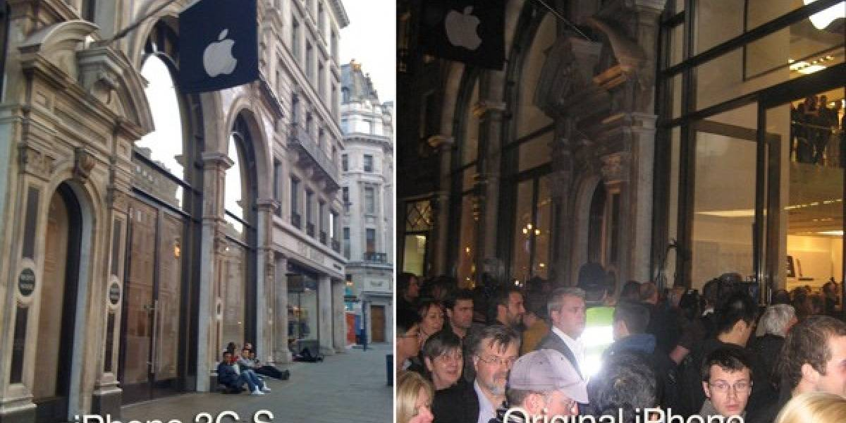 Lanzamiento de iPhone 3G S, ahora sin largas filas