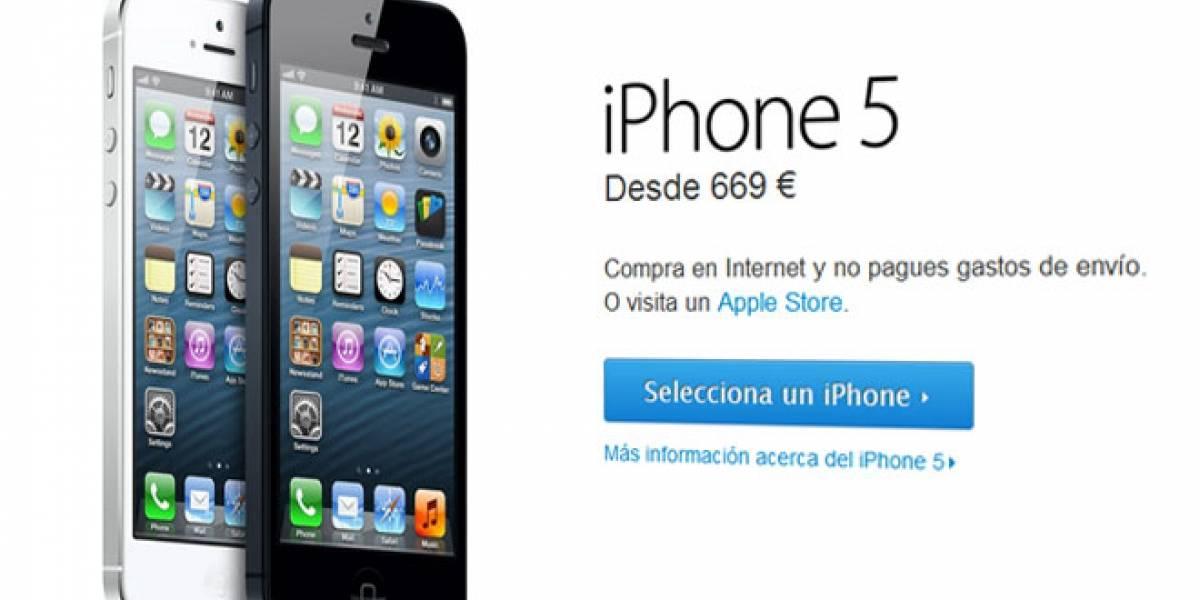 Usuarios del iPhone 5 se quejan de un 'parpadeo' en la pantalla al usar el teclado