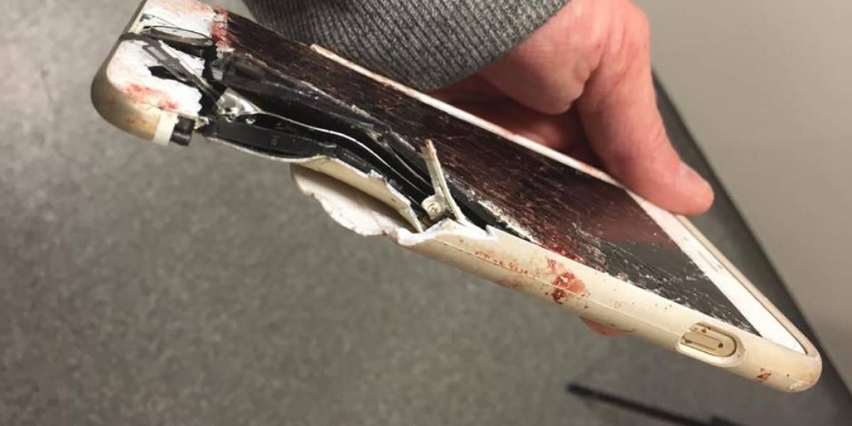 iPhone 6s salva la vida de una mujer en atentado de Manchester