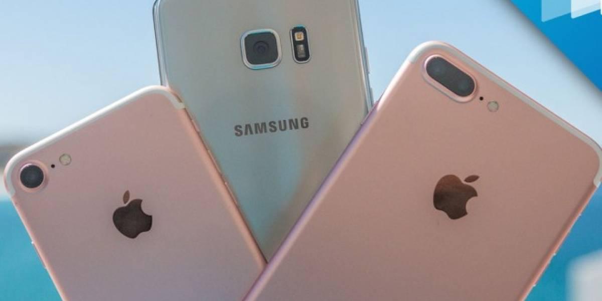 iPhone 7 y Galaxy Note 7 se enfrentan en prueba de velocidad