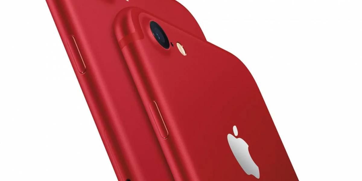 Este es el precio del iPhone 7 rojo en México
