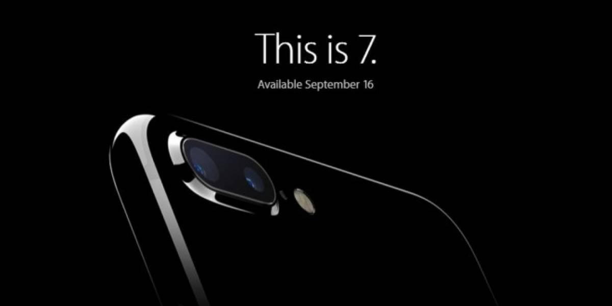 Estos son los precios del iPhone 7 y iPhone 7 Plus con Entel Chile