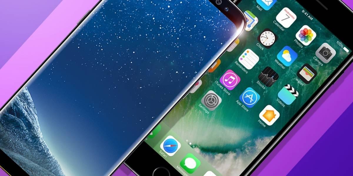 Samsung Galaxy S8 resulta ser más rápido que el iPhone 7