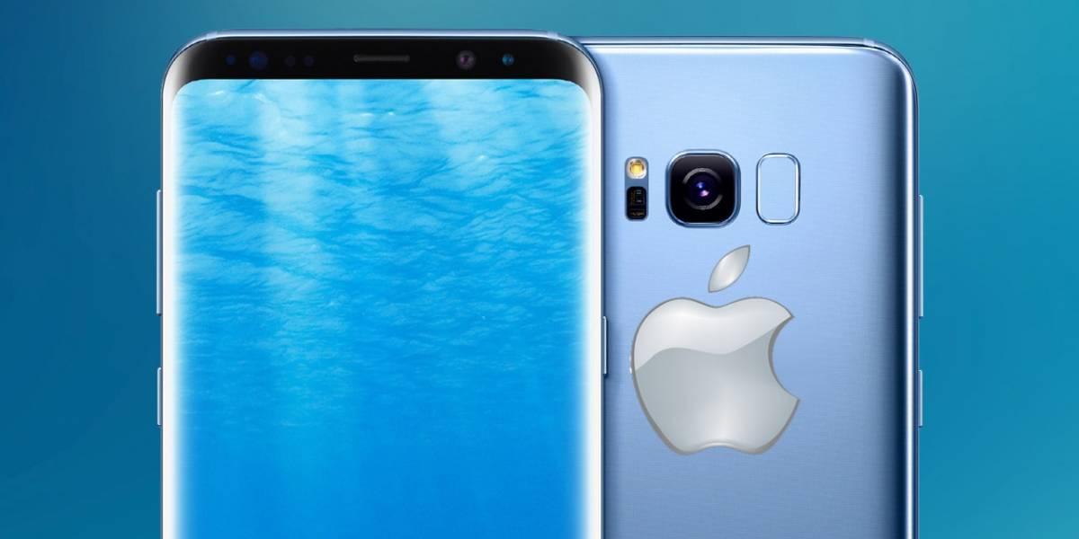 El iPhone 8 sería idéntico al Galaxy S8