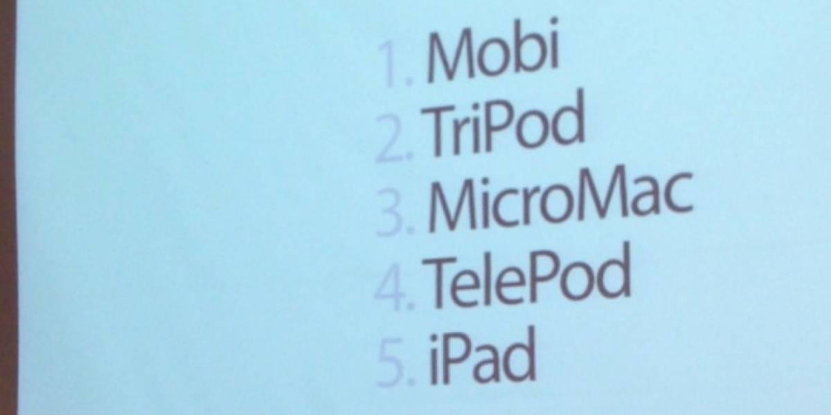 Los <del>horribles</del> nombres por los que casi conocemos al iPhone