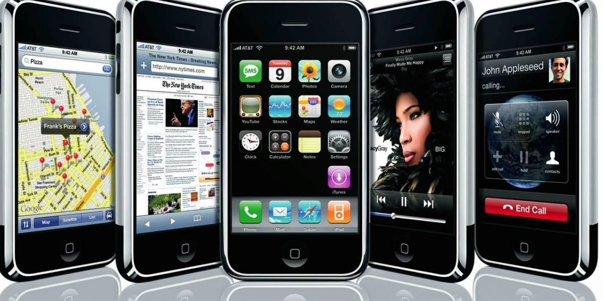 iPhone 8 tendría un diseño similar al modelo original de 2007