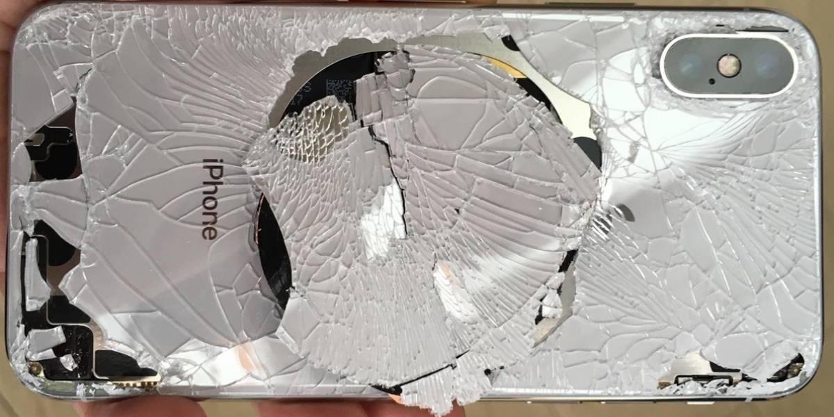 iPhone X es nombrado el smartphone más frágil en la historia de Apple