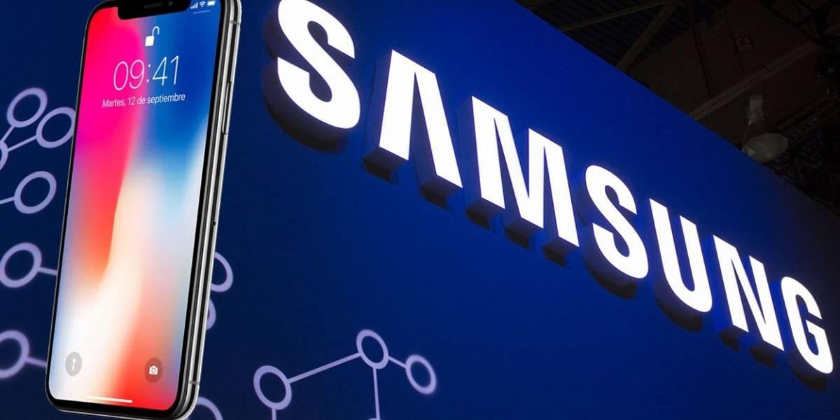 Samsung ganará una millonada gracias al iPhone X