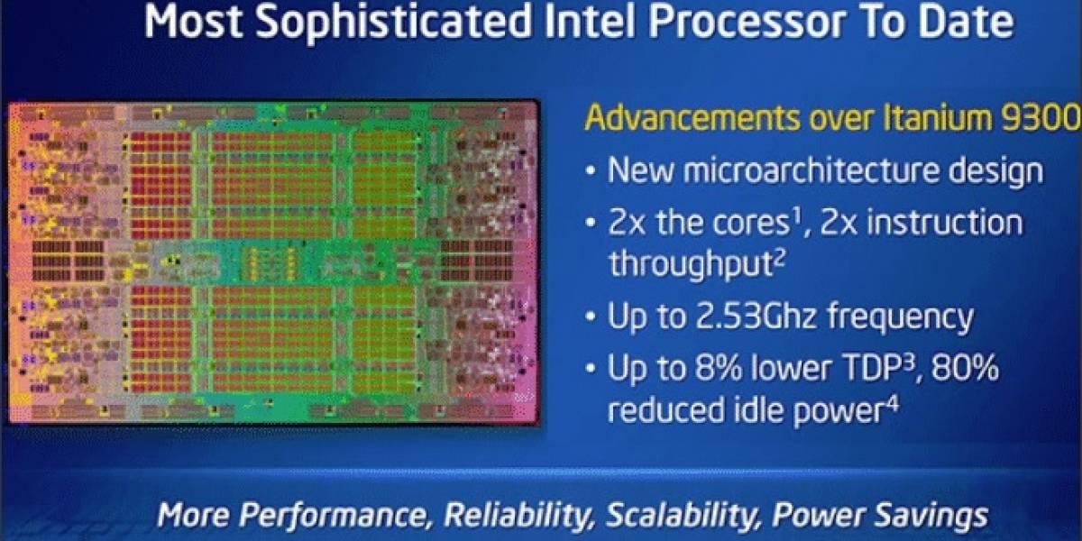 Intel lanza sus nuevos microprocesadores Itanium 9500 Series