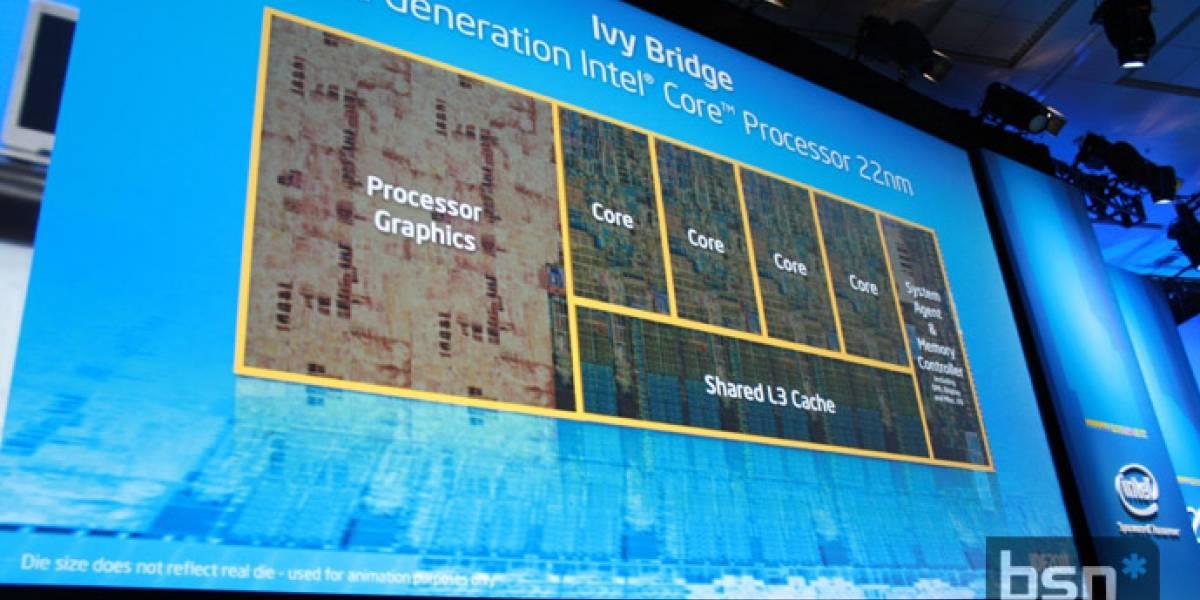 IDF 2011: Intel revela detalles de su arquitectura Ivy Bridge