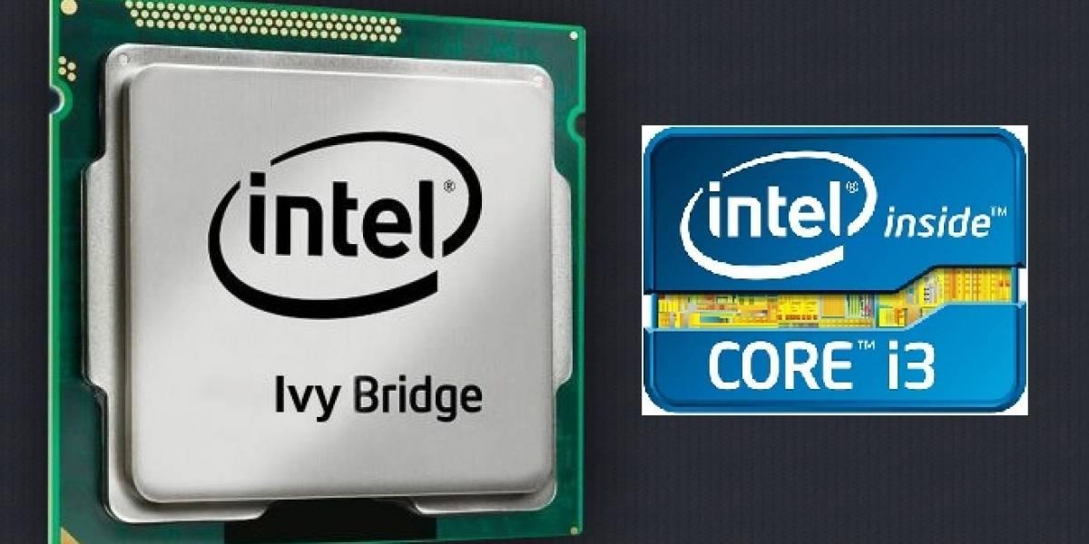 """Intel lanza sus microprocesadores Core i3 de tercera generación """"Ivy Bridge-MB"""" para portátiles"""