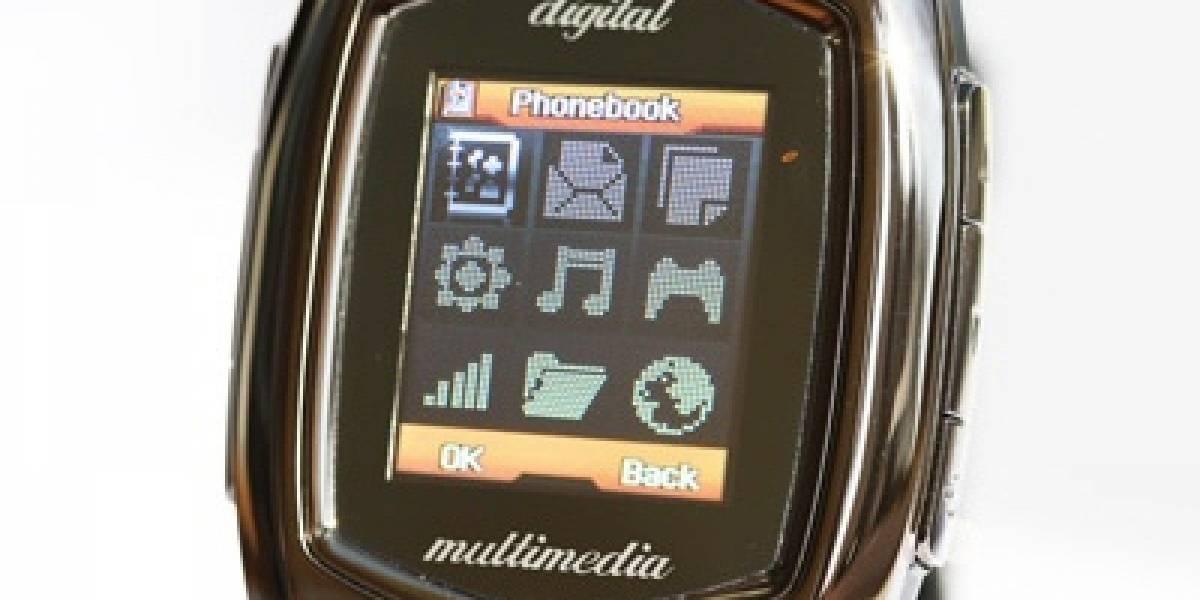 Teléfono-reloj de pulsera con doble SIM