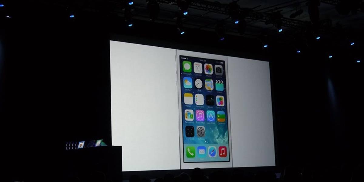 Apple anuncia iOS 7