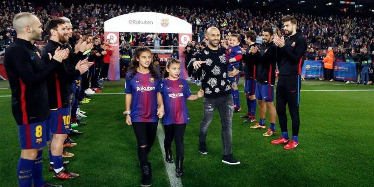 """""""El Jefecito"""" quedó atrás, en China ponen nuevo apodo a Javier Mascherano"""