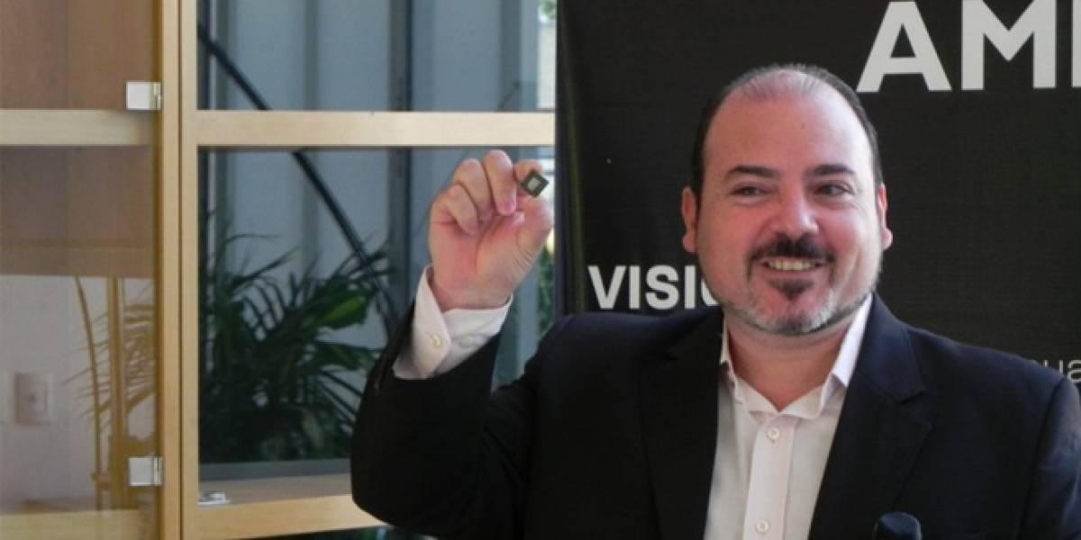 """Jose Luis Fernandez de AMD: """"Hay un mundo de diferencia entre los gráficos integrados Intel y AMD"""""""