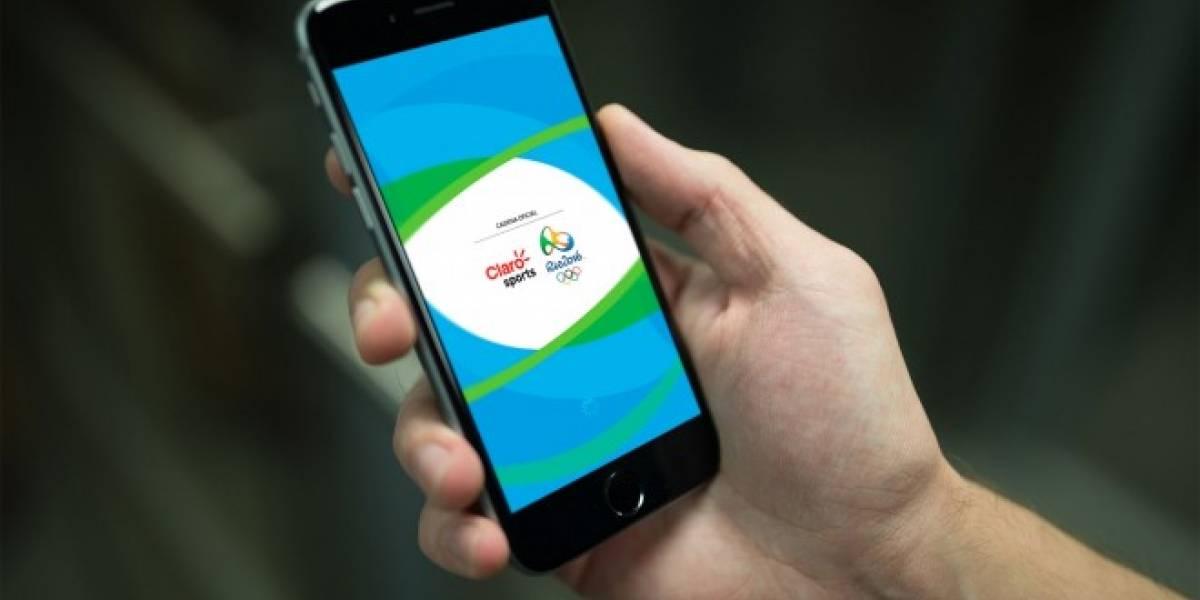 Claro lanza aplicación para ver en vivo los Juegos Olímpicos