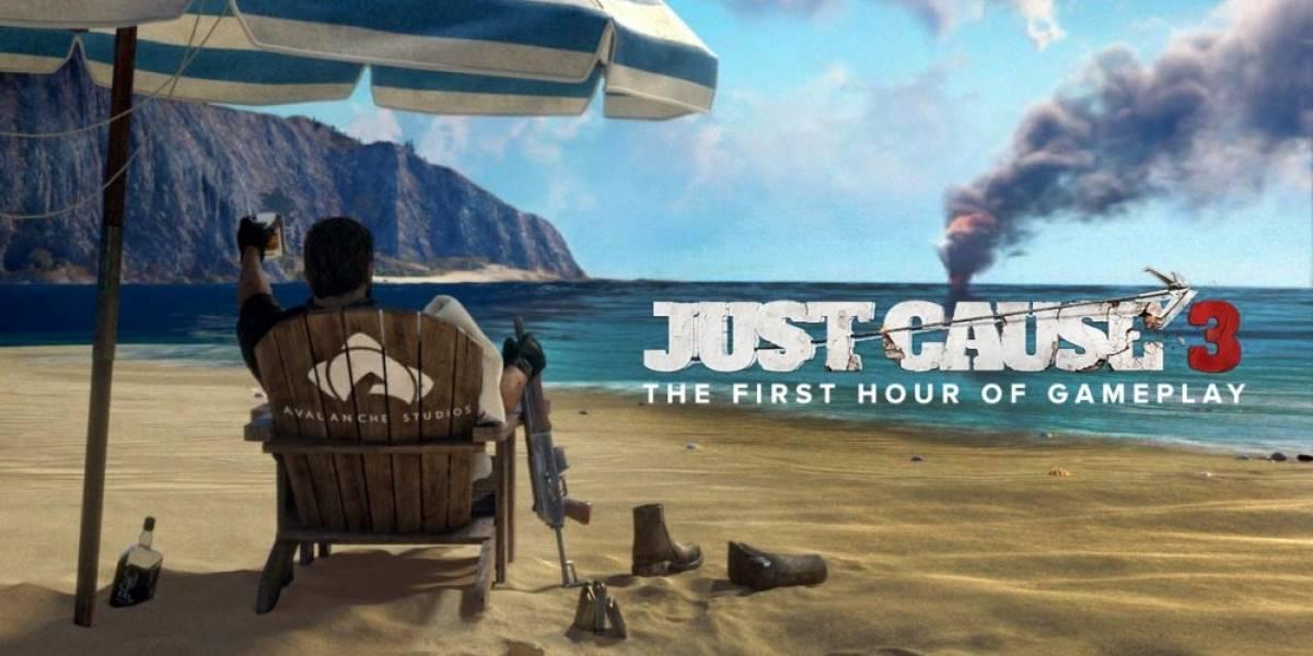 Vean la primera hora de jugabilidad de Just Cause 3