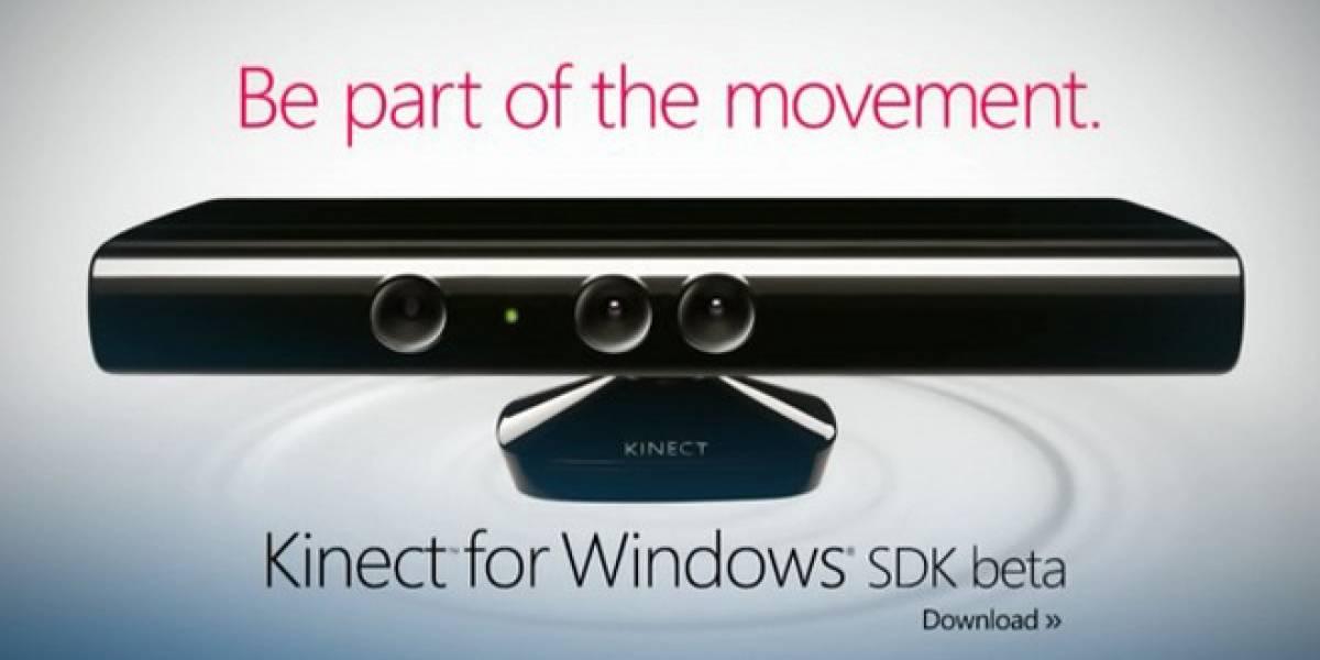 CES 2012: Kinect para Windows está listo, se estrena en febrero a USD$250