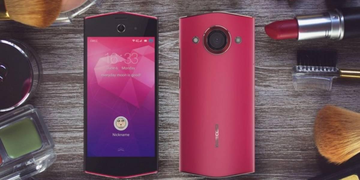 Keecoo K1 es un smartphone hexagonal diseñado para mujeres