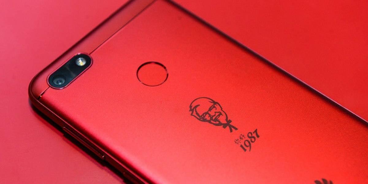 KFC lanza un celular en conjunto con Huawei