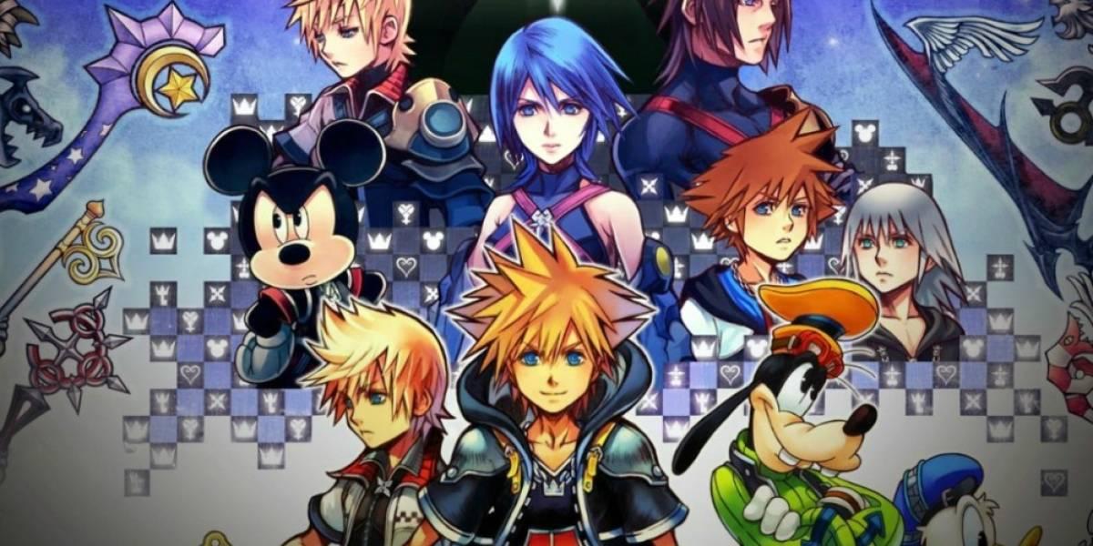 Kingdom Hearts 2.8 presenta nuevo tráiler
