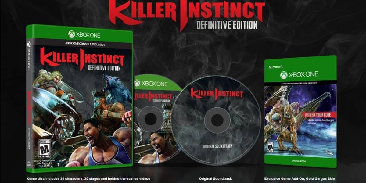 Killer Instinct: Definitive Edition es anunciado oficialmente