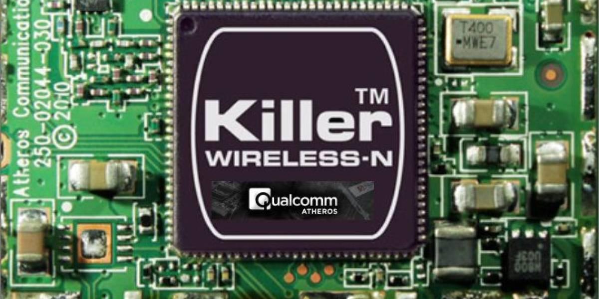 Qualcomm Atheros anuncia su solución de red WiFi+LAN Killer DoubleShot