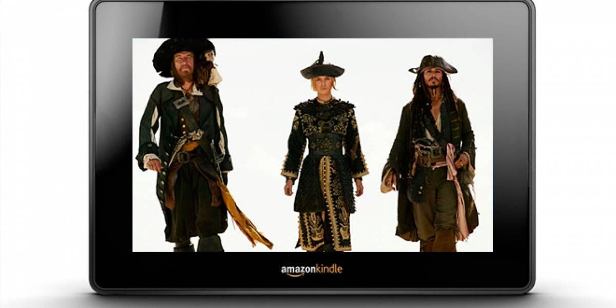 La piratería en el Kindle comienza a crecer gracias a los altos precios