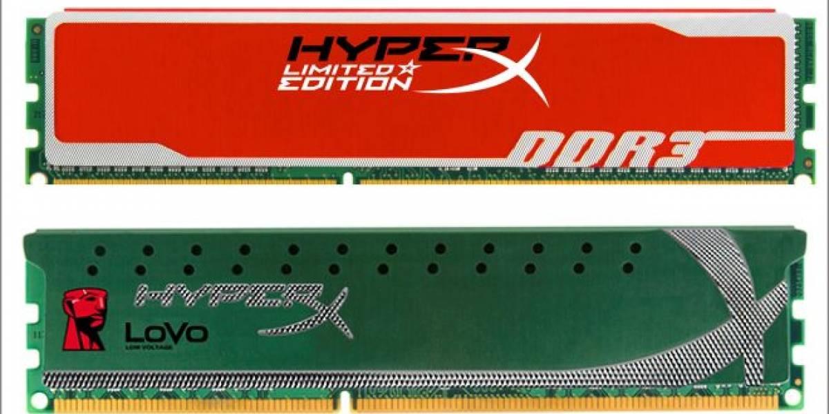 CES 2012: Kingston presenta sus módulos de memoria HyperX Red y nuevas LoVo