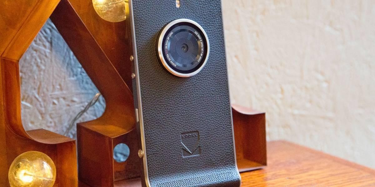 Kodak lanzará su cámara-smartphone Ektra en abril
