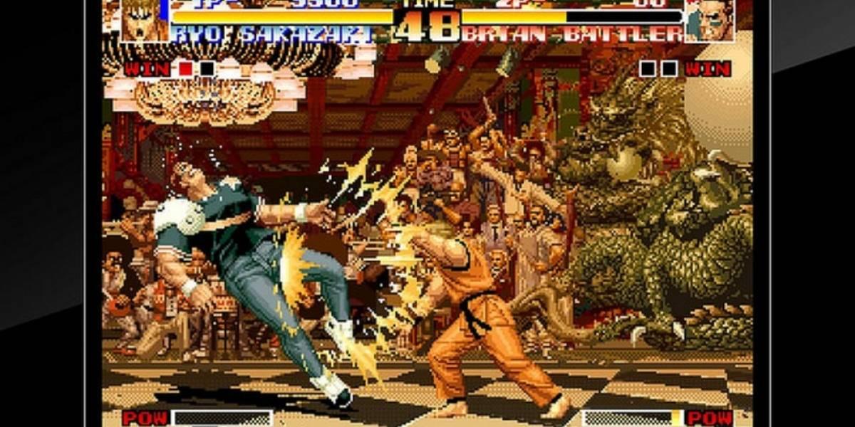 PS4 recibirá clásicos de Neo Geo como The King of Fighters 94 y Metal Slug
