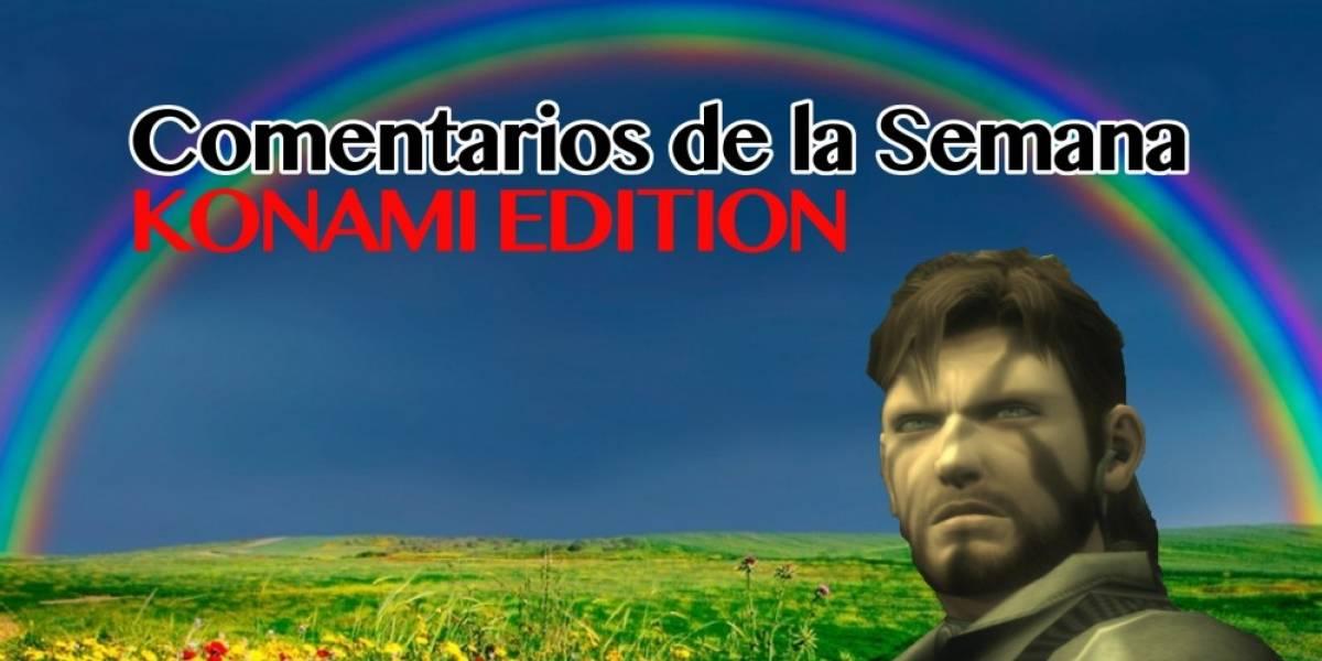 Los Comentarios de la Semana, Konami Edition