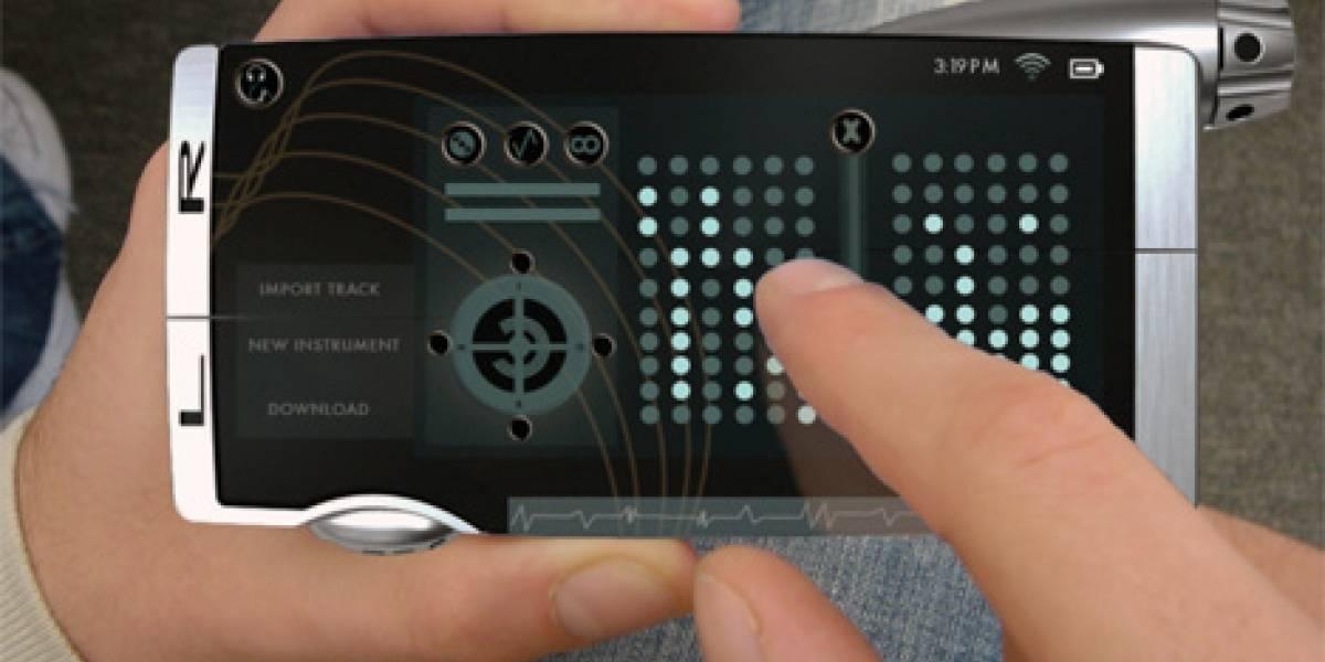 Motorola Kre-8: Un concepto para DJs, músicos y melómanos