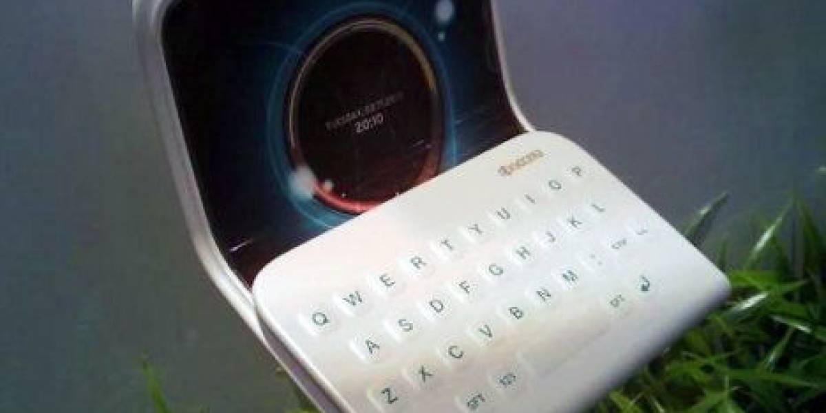 Concepto: Kyocera quiere un terminal OLED plegable y ecológico